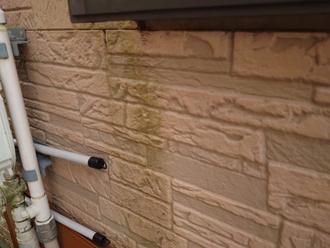 サイディング外壁の汚れ