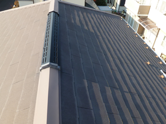相模原市中央区にてはじめての屋根外壁塗装を実施