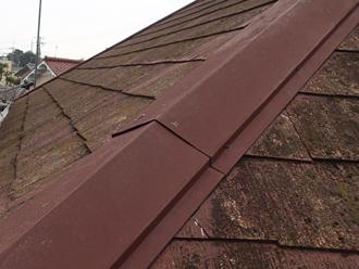 茂原市木崎にて築30年、屋根塗装工事を行いました