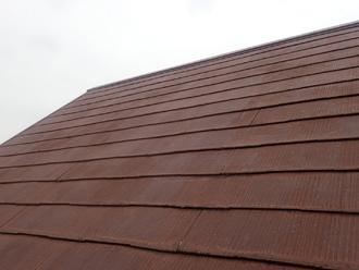 鴨川市横渚にて築16年の屋根を塗装、遮熱塗料で綺麗に塗装いたしました