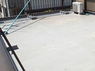 鎌ケ谷市東中沢にて陸屋根の防水工事を実施いたしました