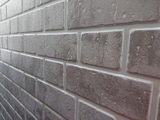 レンガ調のサイディング外壁
