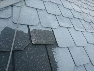 下塗り屋根