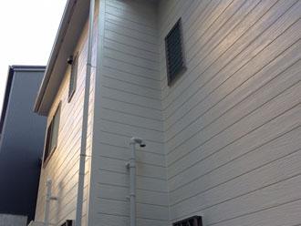 塗装して光沢が蘇った外壁
