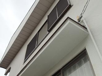 八街市朝日にてモルタル外壁をパーフェクトトップで塗装