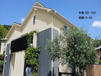 外壁:ND-104-雨樋:N-90