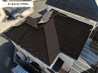 屋根クールコーヒーブラウン
