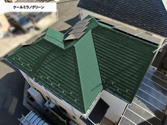 屋根クールミラノグリーン