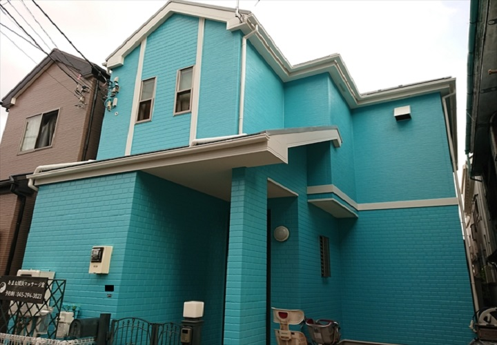 屋根外壁塗装が完了