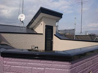 屋根外壁塗装後