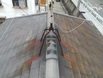 築12年、東金市小野にてファインパーフェクトベストで屋根塗装を実施