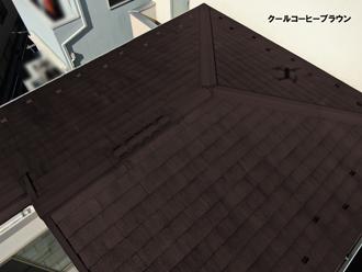 サーモアイのブラウン系でカラーシミュレーション!川崎市麻生区千代ケ丘のお客様