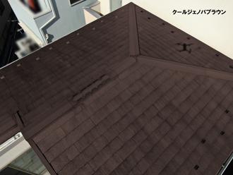 屋根:クールジェノバブラウン