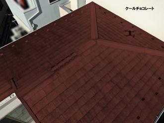 屋根:クールチョコレート