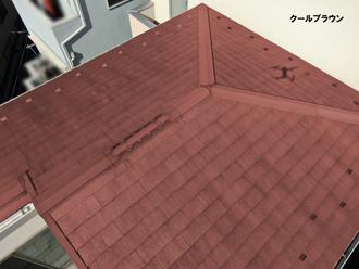 屋根:クールブラウン