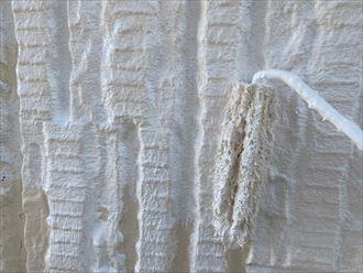 木更津市 下塗り材塗布作業