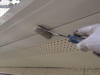 君津市 雨樋塗装
