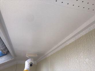 東金市上武射田で、高耐久無機塗料スーパーセランフレックスを使用した外壁塗装工事を行いました