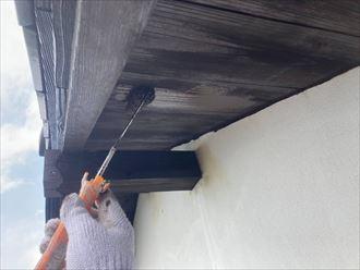 木更津市上望陀で、パーフェクトトップを使用し外壁塗装工事を行いイメージチェンジ