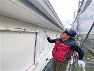 木更津市請西で屋根外壁塗装を日本ペイントのラジカル制御型塗料にて施工いたしました