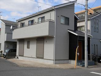 千葉県市原市|サイディング目地の劣化補修と高耐久低汚染塗料ナノコンポジットWで外壁塗装、屋根は遮熱塗料のサーモアイSiで塗装