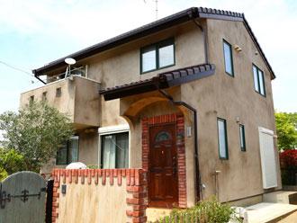 千葉県旭市で外壁リフォーム エイジング塗装(屋根、外壁塗装)
