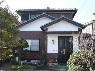 千葉県富津市|外壁塗装とコーキングの目地補修