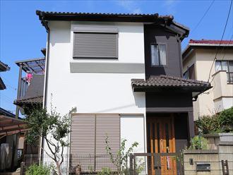 稲毛区のN様邸、屋根補修工事から内装外装リフォーム(外壁編)