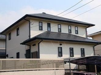 千葉県袖ケ浦市にお住まいの石間様邸 屋根塗装工事 外壁塗装工事