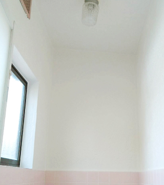 浴室塗装後