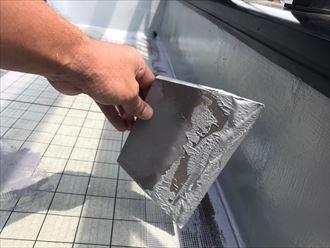 ウレタン塗膜防水施工
