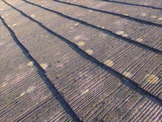 化粧スレート屋根材の劣化