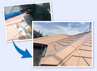これまでの塗料より耐用年数と耐久性が増加するので資産価値の増加に該当する