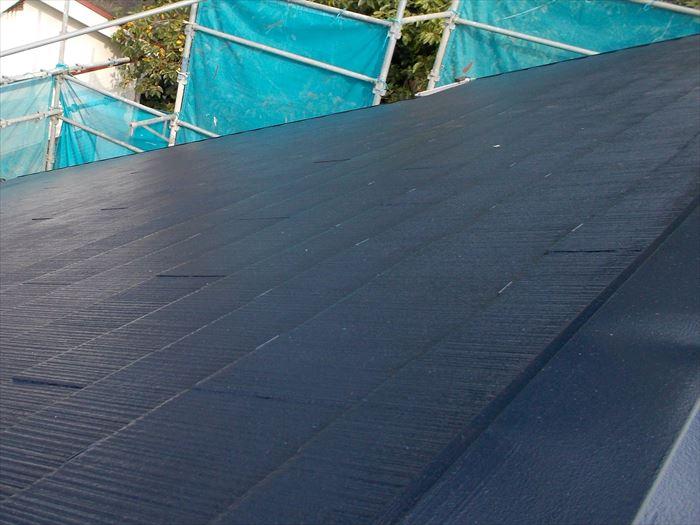 屋根塗装工事完了