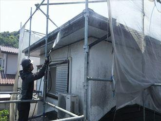 高圧洗浄,外壁