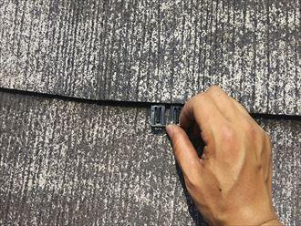 袖ケ浦市の屋根塗装に使う縁切り用のタスペーサー