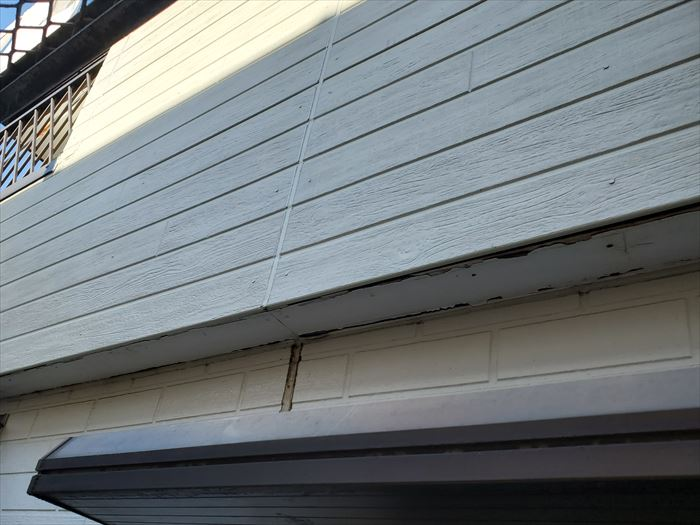 外壁材張替工事完了