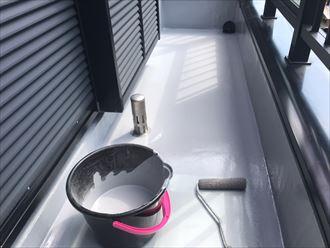 床面の防水塗装