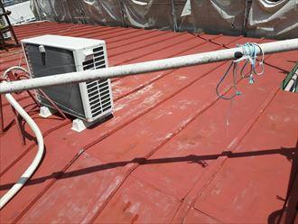 金属屋根の劣化