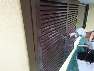 雨戸・戸袋塗装