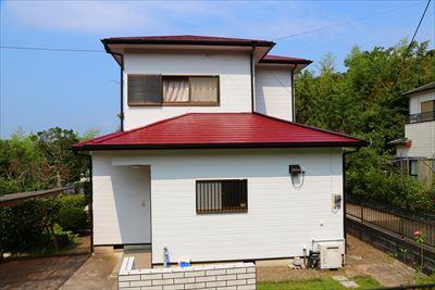 築30年の家のメンテナンス塗装 君津市