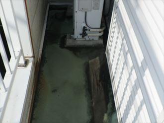 バルコニー防水層