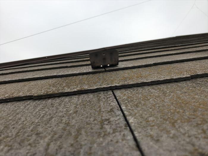 屋根材の浮き・反り確認