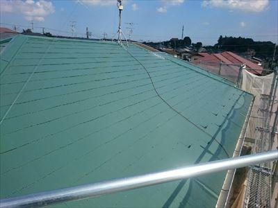 袖ケ浦市のぞみ野で屋根塗装と外壁の高圧洗浄