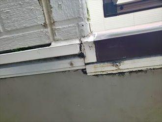 外壁下端のシーリング劣化