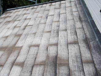 屋根材の素地露出