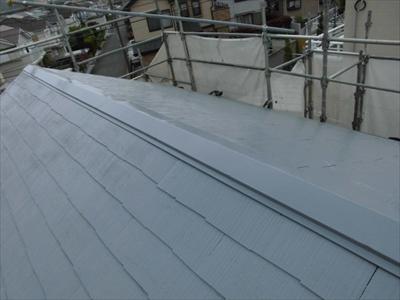 神奈川県平塚市でバイオマスR-Siを使った屋根塗装