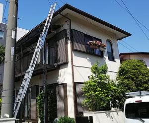 屋根点検 梯子