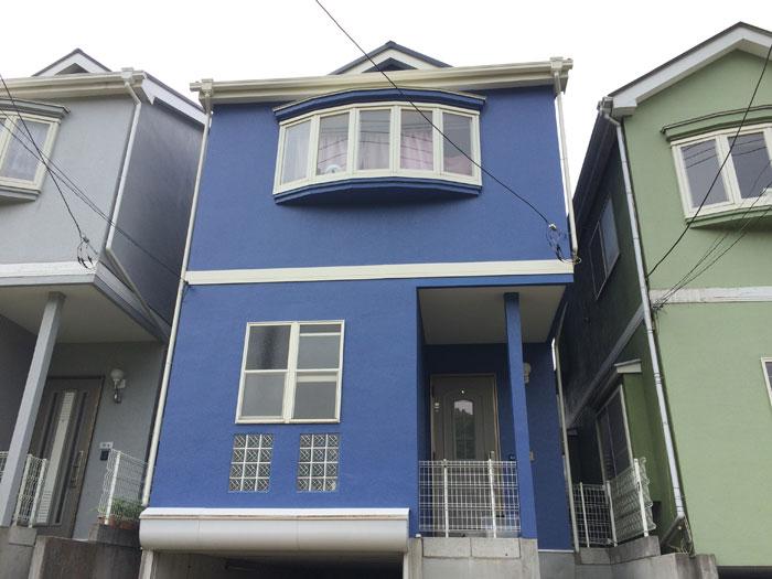 横浜市保土ヶ谷区 屋根カバー工事 外壁塗装 完工