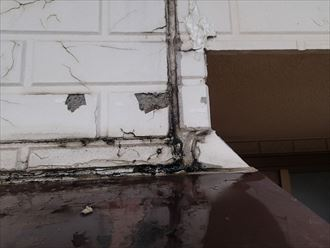 外壁塗膜の劣化